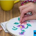 Cara Menyulam Taplak Meja Dengan Benang Wol